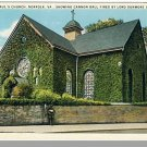 NORFOLK, VIRGINIA/VA  POSTCARD, Old St. Paul's Church