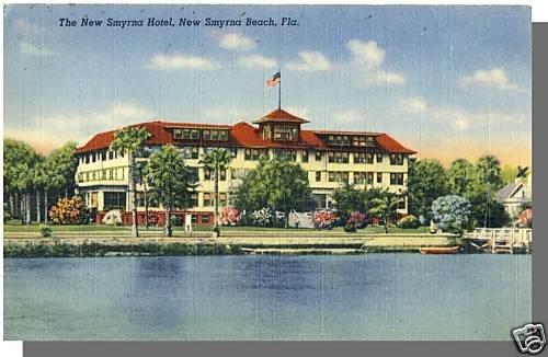 NEW SMYRNA BEACH, FLORIDA/FL POSTCARD, New Smyrna Hotel