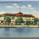 NEW SMYRNA BEACH, FLORIDA/FL POSTCARD, New Smyrna Hotel