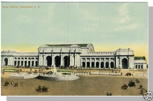 Nice WASHINGTON, DC POSTCARD, Union Station, 1920's?