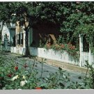 EDGARTOWN, MASS/MA POSTCARD,19th Cetury Houses,Cape Cod
