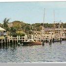 HYANNIS, MASS/MA POSTCARD, Ocean St. Docks, Cape Cod