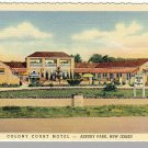 ASBURY PARK, NEW JERSEY/NJ POSTCARD, Colony Court Motel