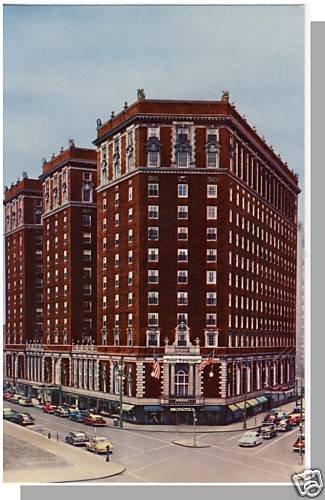 SYRACUSE, NEW YORK/NY POSTCARD, Hotel Syracuse, Nr Mint