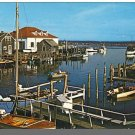 Nice MENEMSHA, MASS/MA POSTCARD, Coast Guard, Cape Cod