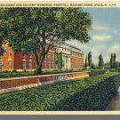 Nice UTICA, NEW YORK/NY POSTCARD, Masonic Home/Hospital
