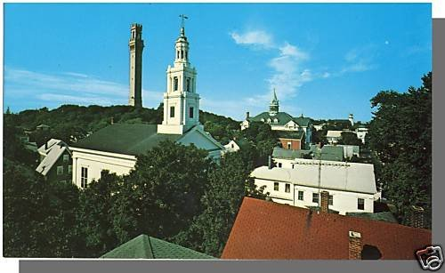 Nice PROVINCETOWN, MASS/MA POSTCARD, Rooftops, Cape Cod