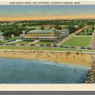 FALMOUTH HEIGHTS, MASS/MA POSTCARD, Park Beach Hotel