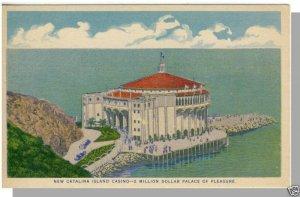 CATALINA ISLAND, CALIFORNIA/CA POSTCARD,Catalina Casino
