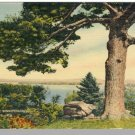 WINNEPESAUKEE, NEW HAMPSHIRE/NH POSTCARD, Broads Lake