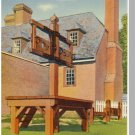 WILLIAMSBURG, VIRGINIA/VA POSTCARD, Stocks/Public Gaol