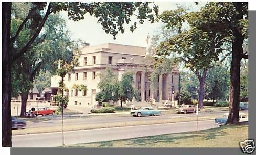 CANANDAIGUA, NEW YORK/NYPOSTCARD, Post Office, 1950's?