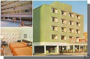 ATLANTIC CITY, NEW JERSEY/NJ POSTCARD, Barbizon Motel