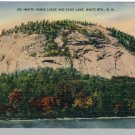 NEW HAMPSHIRE/NH POSTCARD, Echo Lake/White Horse Ledge