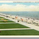 NORFOLK, VIRGINIA/VA  POSTCARD,Virginia Beach Promenade