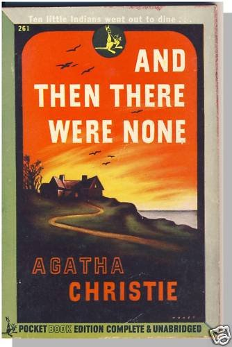 AND THEN THERE WERE NONE, Agatha Christie, Pocket,1945