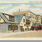 MARSHALL, MICHIGAN/MI POSTCARD, Schuler's Motel & Grill
