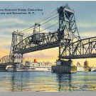 ALBANY, NEW YORK/NY POSTCARD, Dunn Memorial Bridge