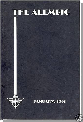 THE ALEMBIC, 1/1951,PROVIDENCE COLLEGE, Rhode Island/RI