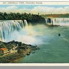 Nice NEW YORK/NY POSTCARD, Niagara Falls, General View