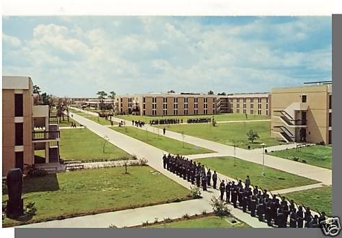 ORLANDO, FLORIDA/FL POSTCARD, US Naval Training Center