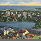 Nice ST. PETERSBURG, FLORIDA/FL POSTCARD, Aerial View