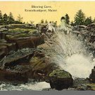Early KENNEBUNKPORT, MAINE/ME POSTCARD, Blowing Cave