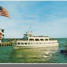 FALMOUTH, MASS/MA POSTCARD,Island Queen Ferry, Cape Cod
