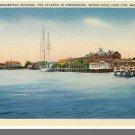 WOODS HOLE, MASS/MA POSTCARD, Oceanographic, Cape Cod