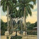 HAVANA/HABANA, CUBA POSTCARD, Fountain/Colon Park,1918!