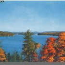 LAKE SUNAPEE, NEW HAMPSHIRE/NH POSTCARD, Autumn Scene