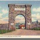 GARDINER, MONTANA/MT POSTCARD, Yellowstone National Park