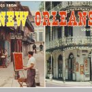 NEW ORLEANS, LOUISIANA/LA POSTCARD,Greetings/Multi View