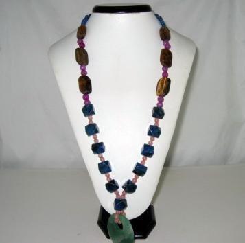 Bohemian Style Elegant Natural gemstone Necklace
