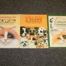 3 books by Phyllis Limbacher Tildes Counting on Calico, Calico Picks a Puppy