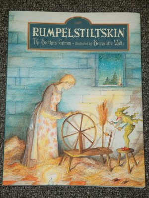 Rumpelstiltskin The Brothers Grimm and Bernadette Watts HB DJ