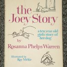The Joey Story by Rosanna Phelps Warren girl and dog story
