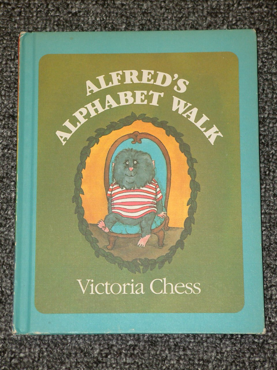 Alfred's Alphabet Walk by Victoria Chess