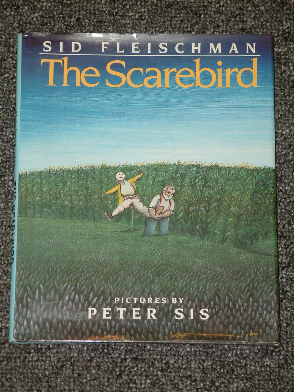 The Scarebird by Sid Fleischman and Peter Sis HB DJ