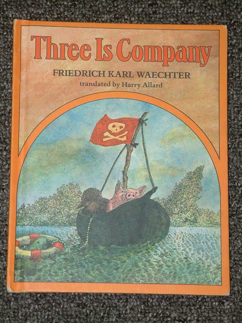 Three is Company by Friedrich Karl Waechter