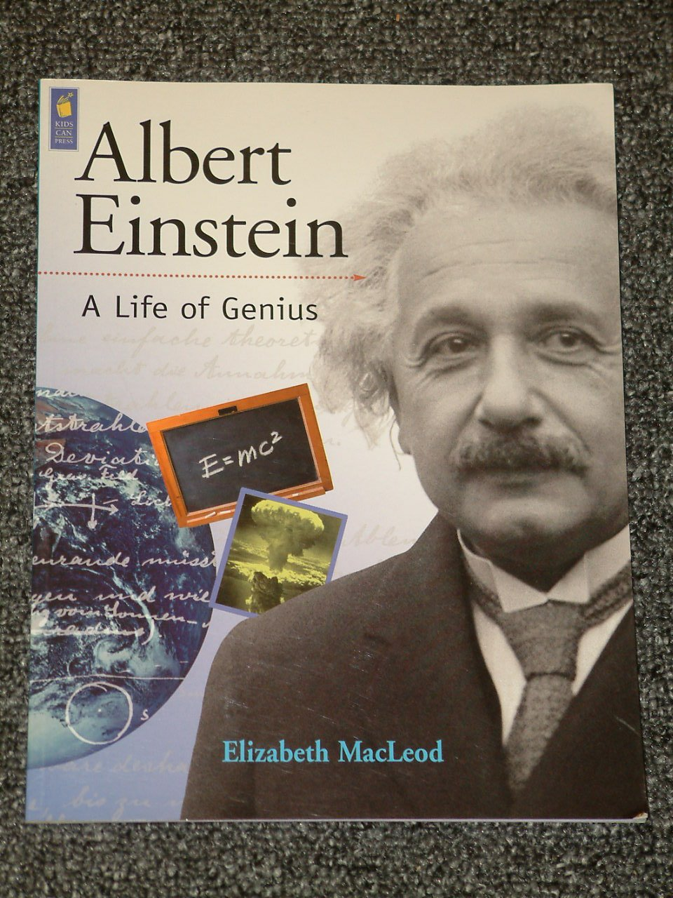 Albert Einstein A Life of Genius by Elizabeth MacLeod