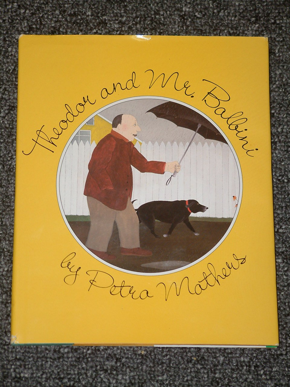 Theodor and Mr. Balbini by Petra Mathers