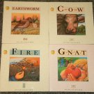 4 My First Nature Book by Andrienne Soutter-Perrot Fire, Cow, Earthworm, Gnat