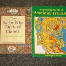 A Coloring Book of Ancient Ireland and A Story of the Book of Kells