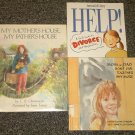 3 Divorce books My Mother's House, My Father's House, Help A Girl's Guide to Divorce