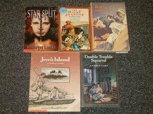 5 by Kathryn Lasky The Night Journey, Star Split, Jems Island