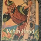 Robin Hood by E. Charles Vivian HB DJ A Classic Illustrated Edition
