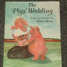 The Pigs' Wedding by Helme Heine HB DJ Signed