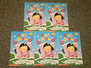 5 copies of I am Snow by Jean Marzollo Hello Reader Level 1 science