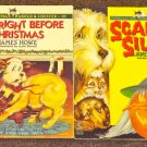 Bunnicula The Fright Before Christmas and Scared Silly by James Howe